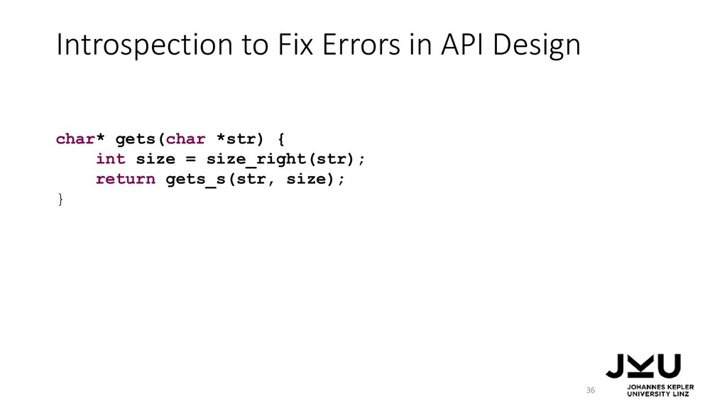 Introspection to Fix Errors in API Design 36 ch...