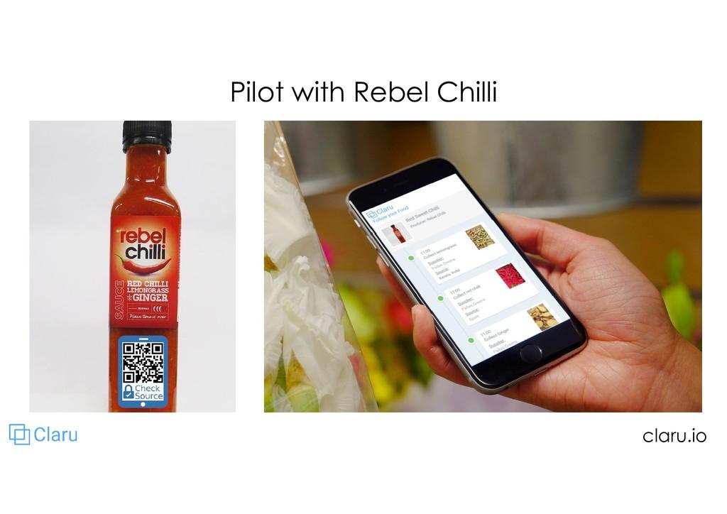 Pilot with Rebel Chilli claru.io