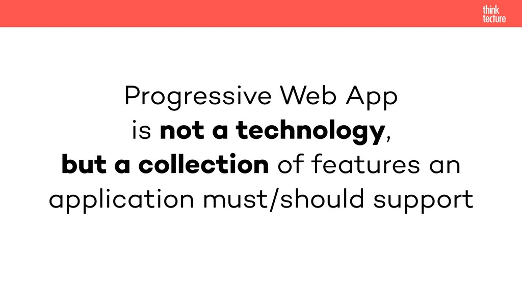 Progressive Web App 