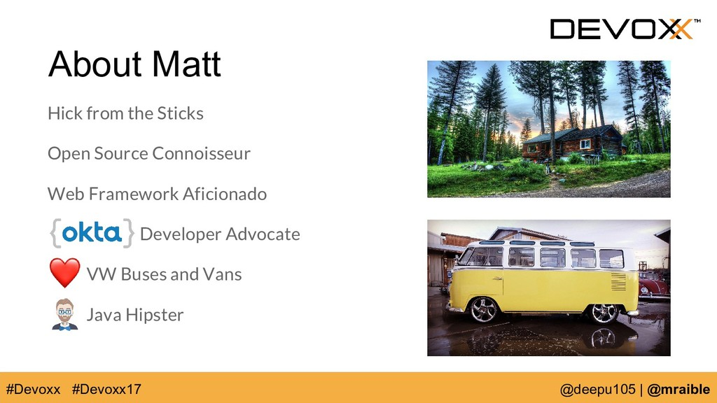 About Matt Hick from the Sticks Open Source Con...