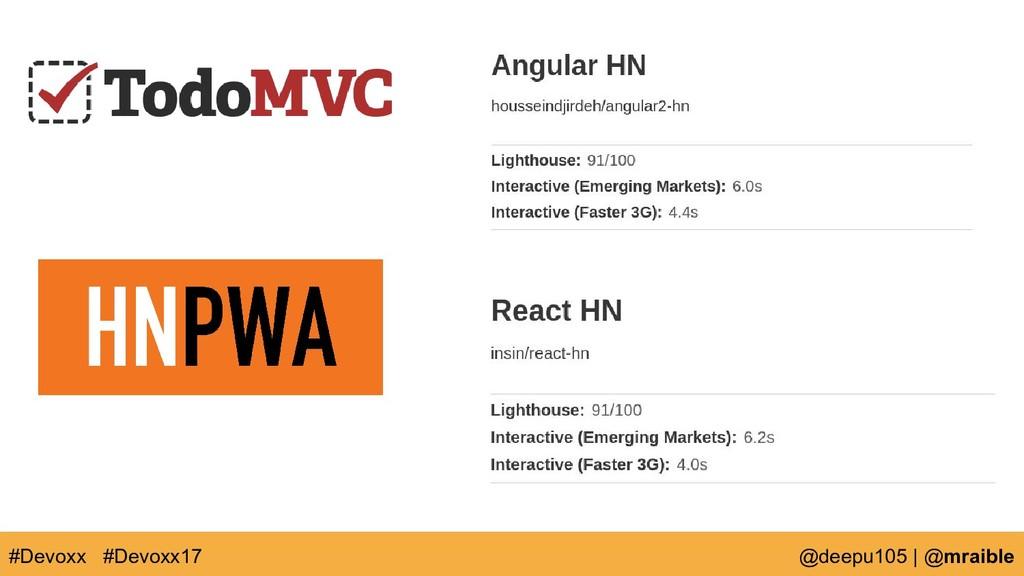 #Devoxx @deepu105   @mraible #Devoxx17