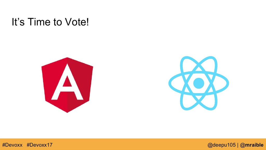 It's Time to Vote! #Devoxx @deepu105   @mraible...