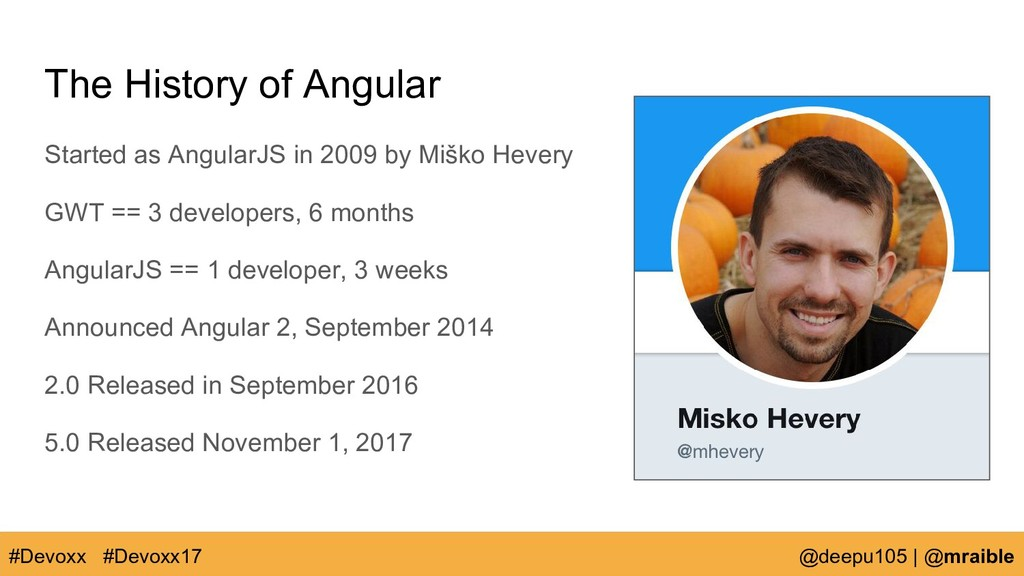 The History of Angular Started as AngularJS in ...