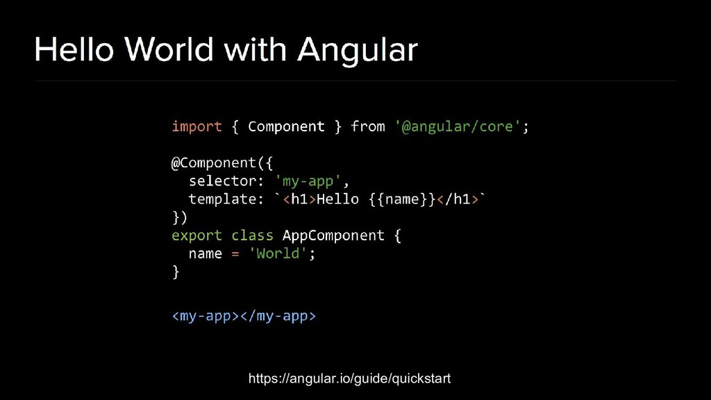 https://angular.io/guide/quickstart