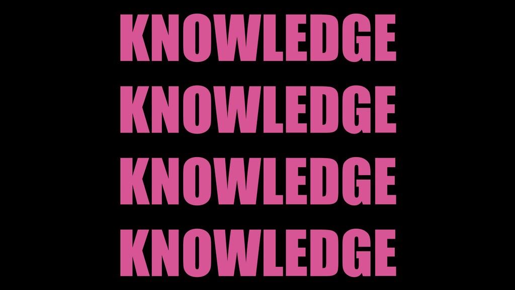 KNOWLEDGE KNOWLEDGE KNOWLEDGE KNOWLEDGE