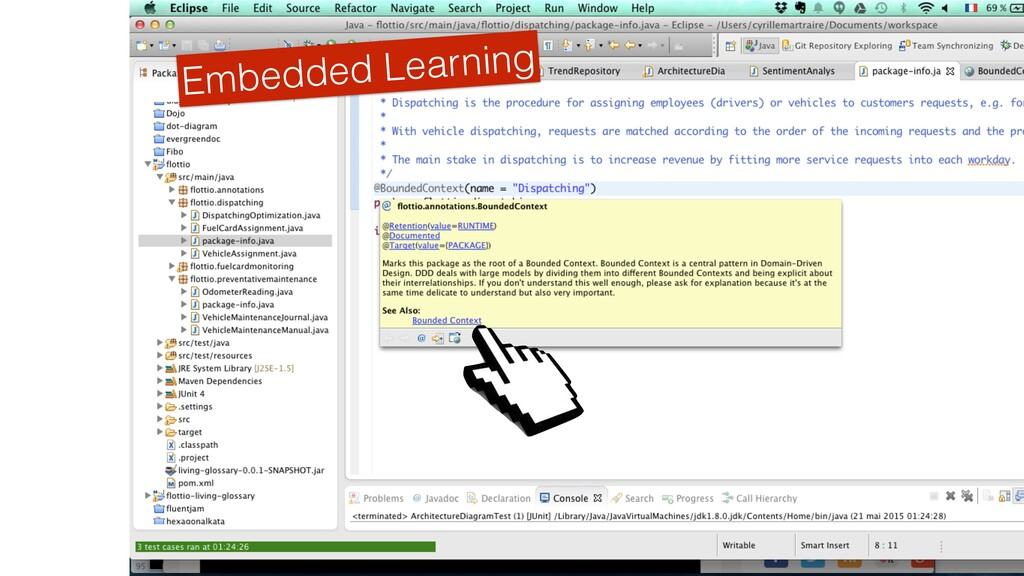 Embedded Learning