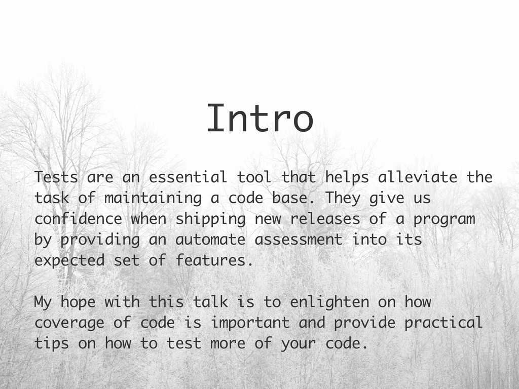 Intro Tests are an essential tool that helps al...