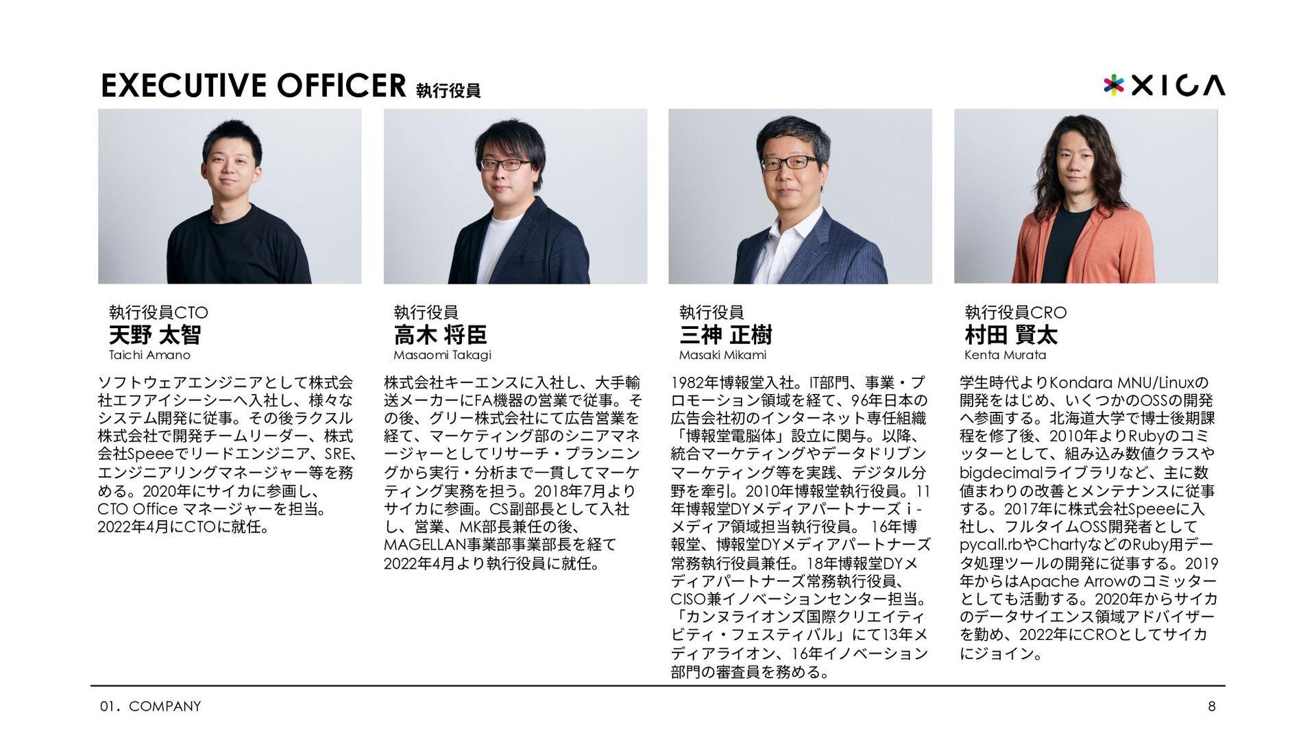 PHILOSOPHY ビジョン/ミッション 02.PHILOSOPHY 8