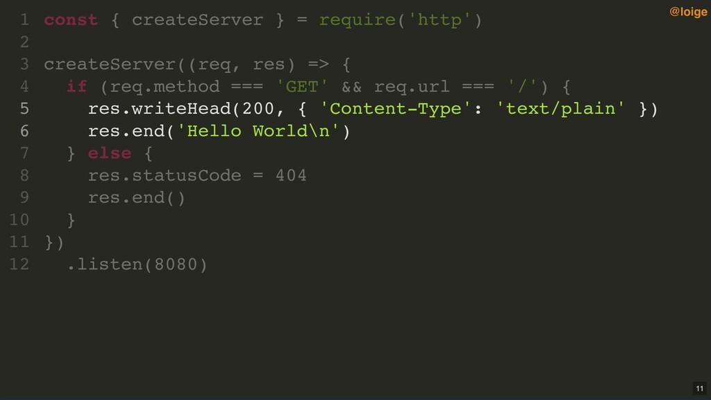 const { createServer } = require('http') create...