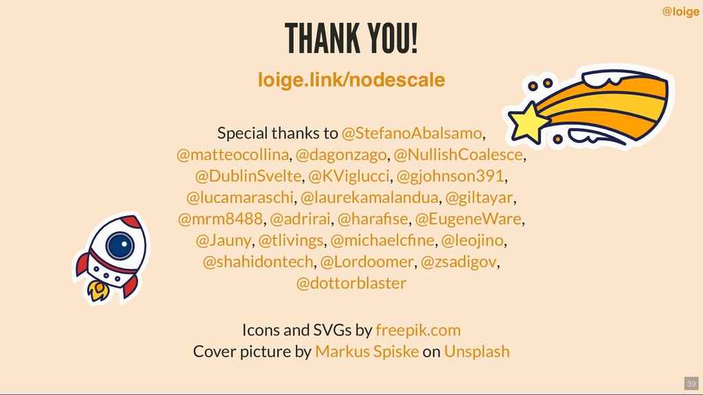 THANK YOU! Special thanks to , , , , , , , , , ...