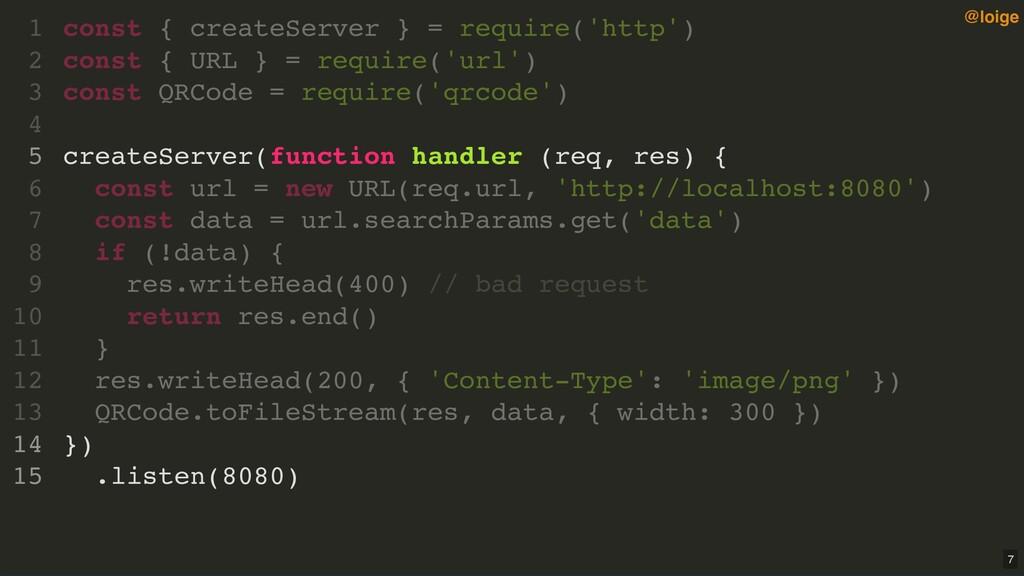 const { createServer } = require('http') const ...