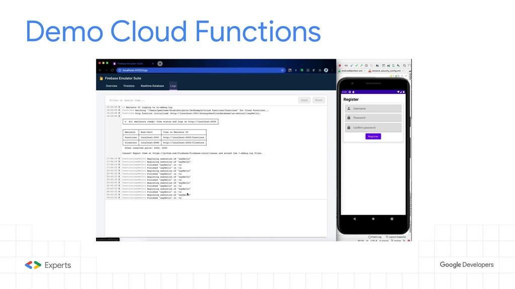 Demo Cloud Functions