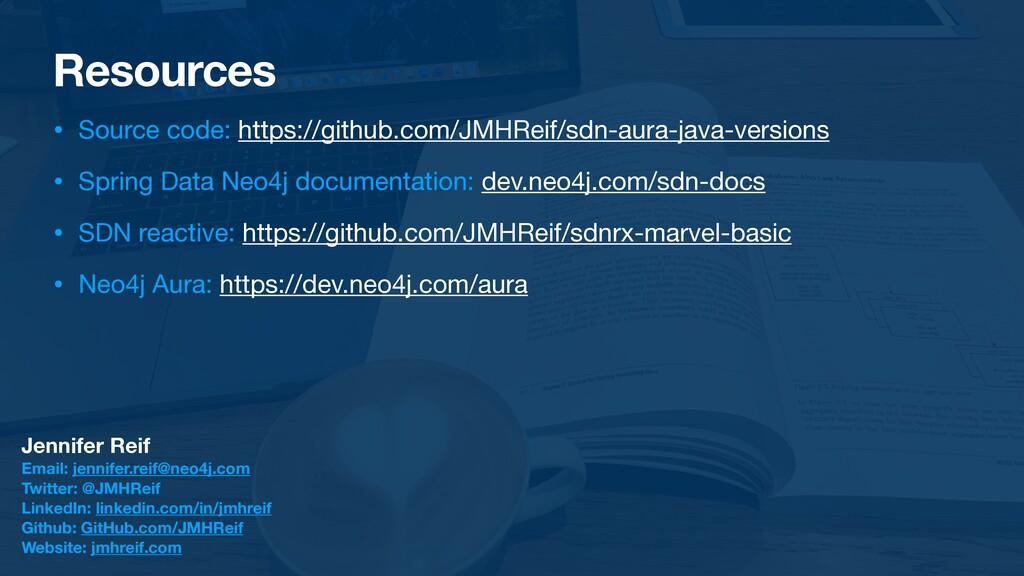 Resources • Source code: https://github.com/JMH...