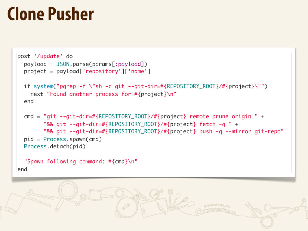 post '/update' do payload = JSON.parse(params[:...