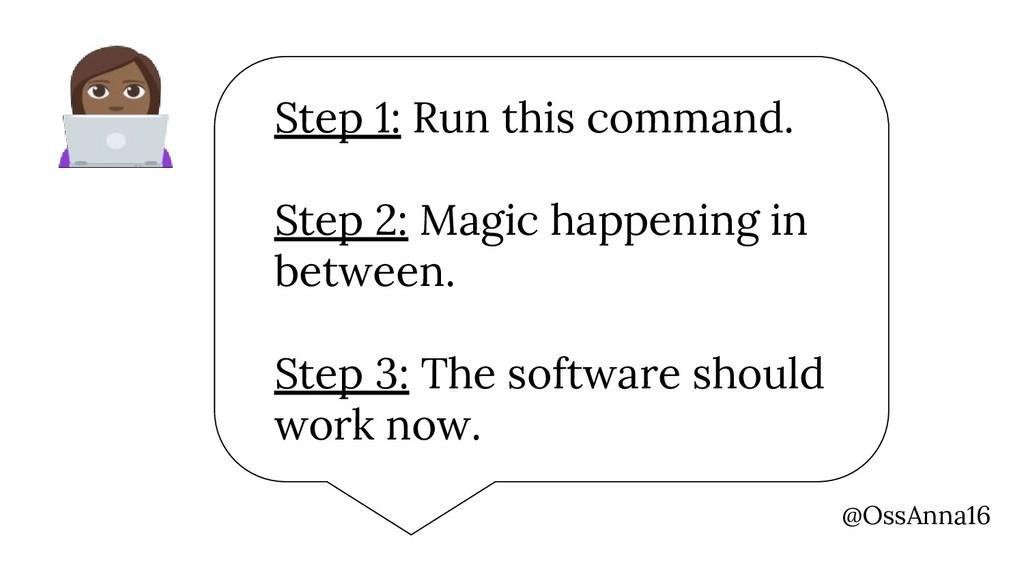 @OssAnna16 Step 1: Run this command. Step 2: Ma...