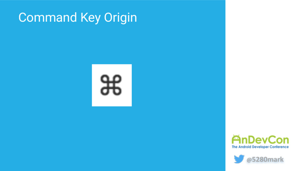@5280mark Command Key Origin