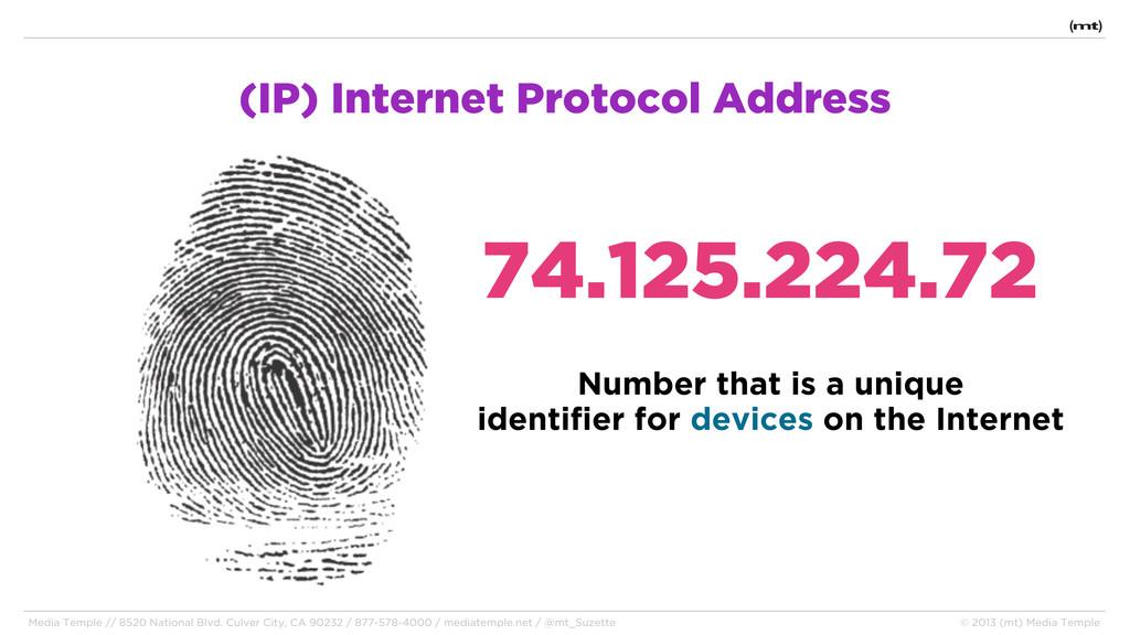 (IP) Internet Protocol Address 74.125.224.72 Me...