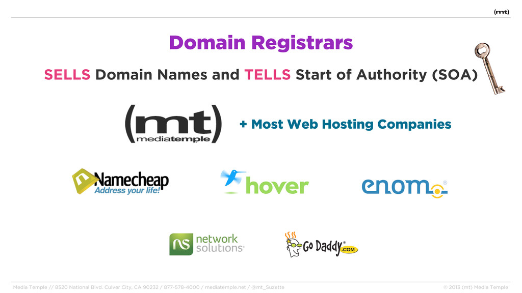 Domain Registrars SELLS Domain Names and TELLS ...