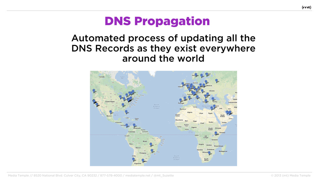 DNS Propagation Automated process of updating a...