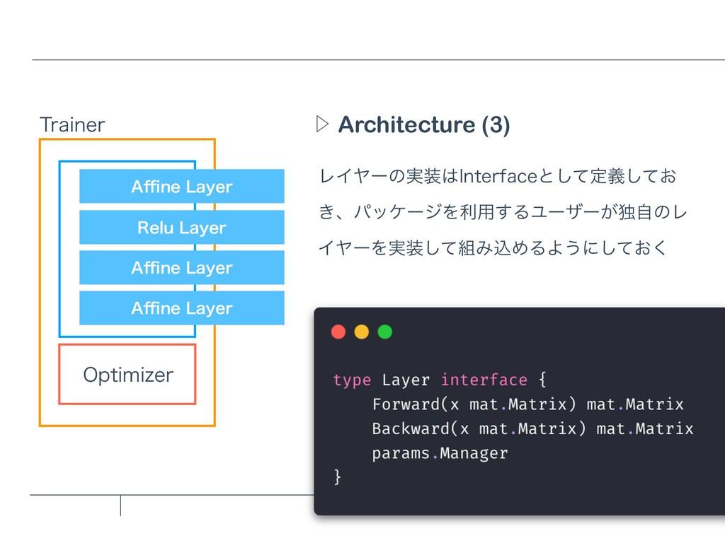 """Architecture (3) Ὂ 5SBJOFS 0QUJNJ[FS """"⒏OF-BZFS..."""