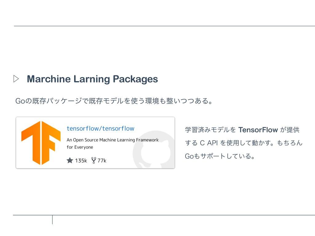 Marchine Larning Packages Ὂ (PͷطଘύοέʔδͰطଘϞσϧΛ͏...