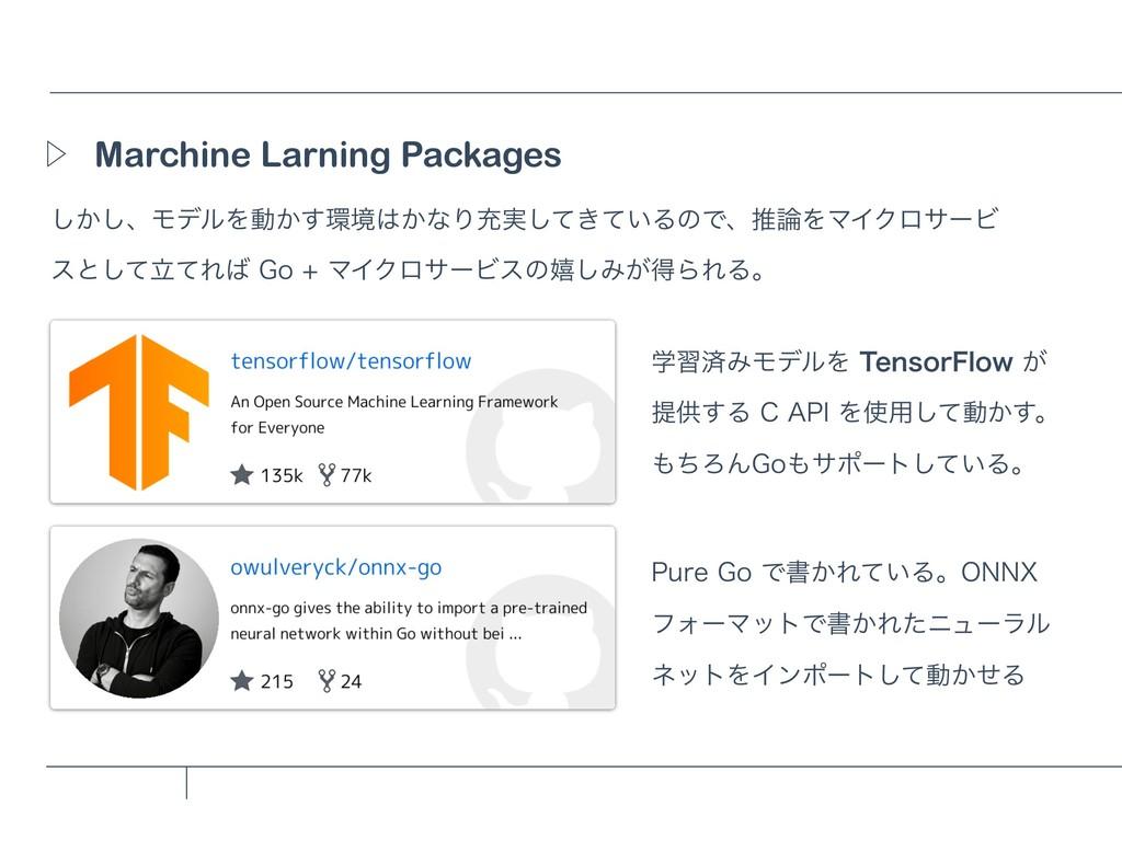 Marchine Larning Packages Ὂ ͔͠͠ɺϞσϧΛಈ͔͢ڥ͔ͳΓॆ࣮...