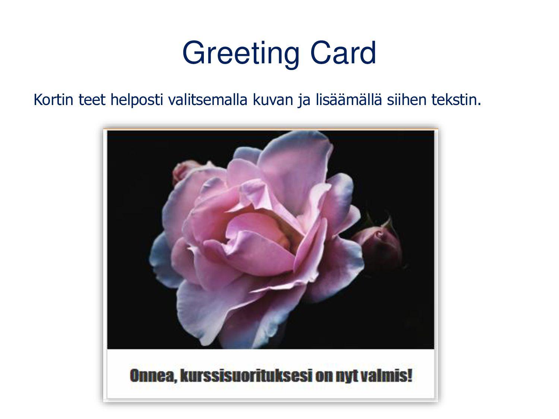 Documentation Tool Työkalun avulla autat oppijo...
