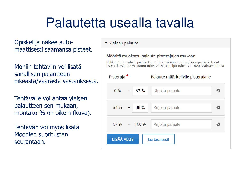 (Quiz) Question Set Kysymyskokoelma