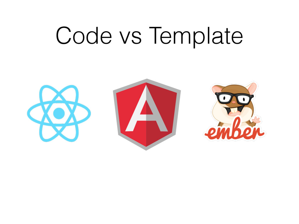 Code vs Template