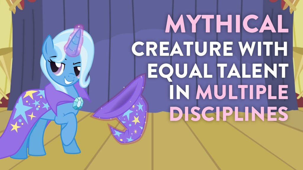 @marktimemedia MYTHICAL CREATURE WITH EQUAL TAL...