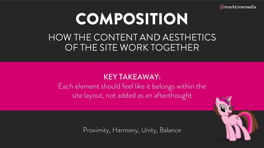 @marktimemedia COMPOSITION HOW THE CONTENT AND ...