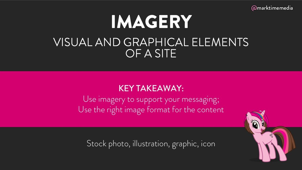 @marktimemedia IMAGERY VISUAL AND GRAPHICAL ELE...