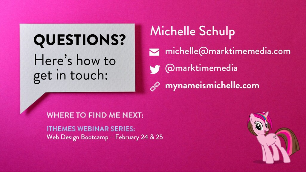 @marktimemedia QUESTIONS? Here's how to get in ...