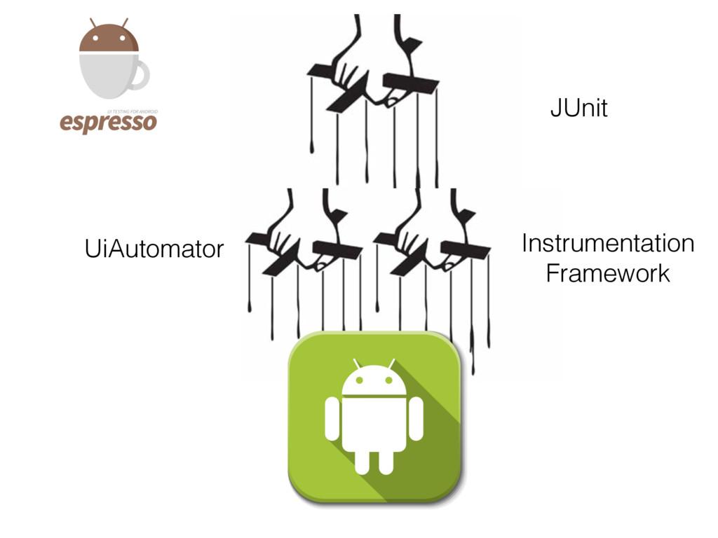 Instrumentation Framework UiAutomator JUnit