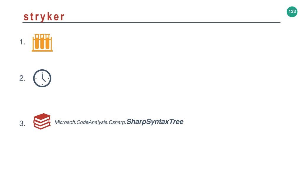 133 stryker 1. 2. 3. Microsoft.CodeAnalysis.Csh...