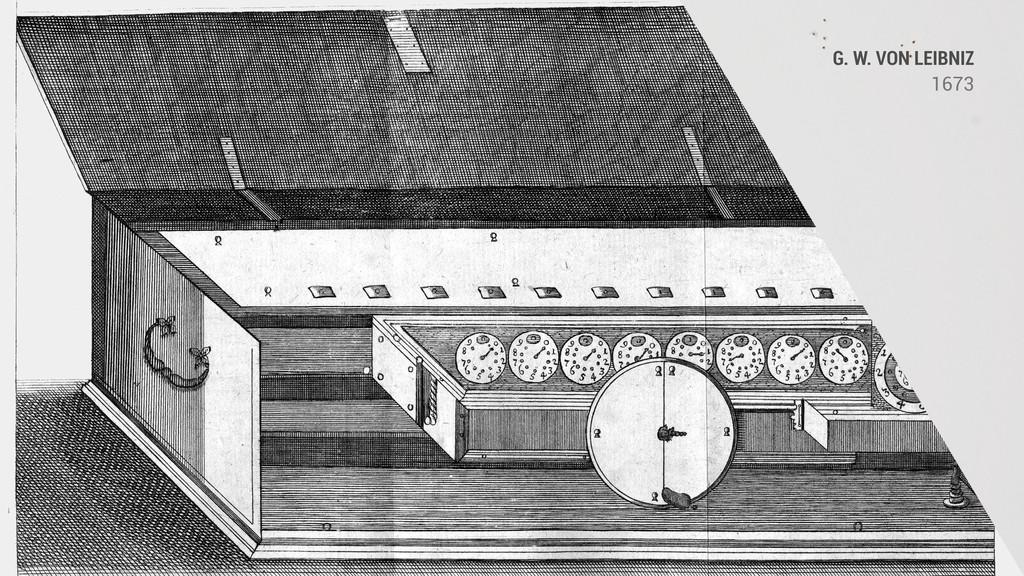 G. W. VON LEIBNIZ 1673