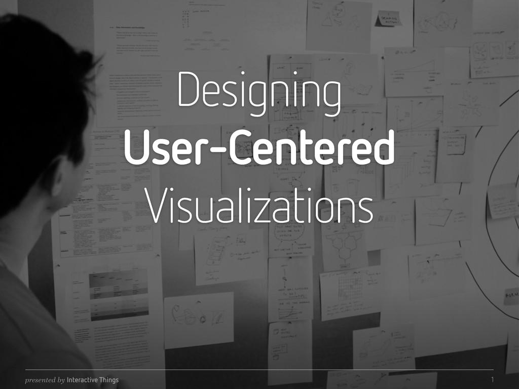 Designing User-Centered Visualizations presente...