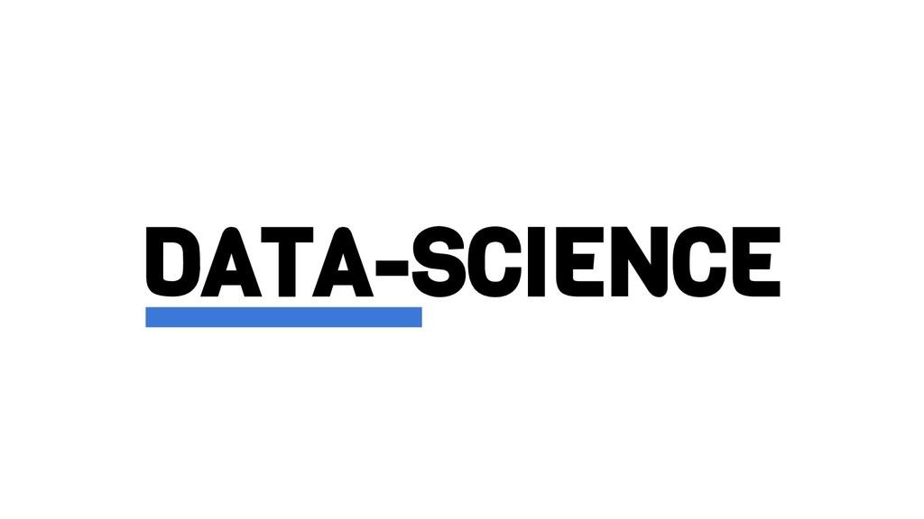 DATA-SCIENCE