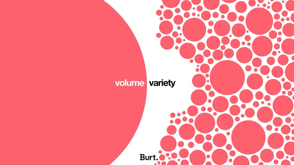 volume variety
