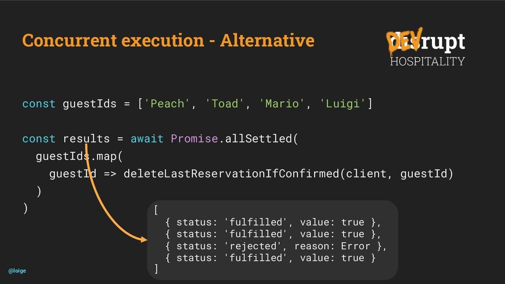 Concurrent execution - Alternative const guestI...