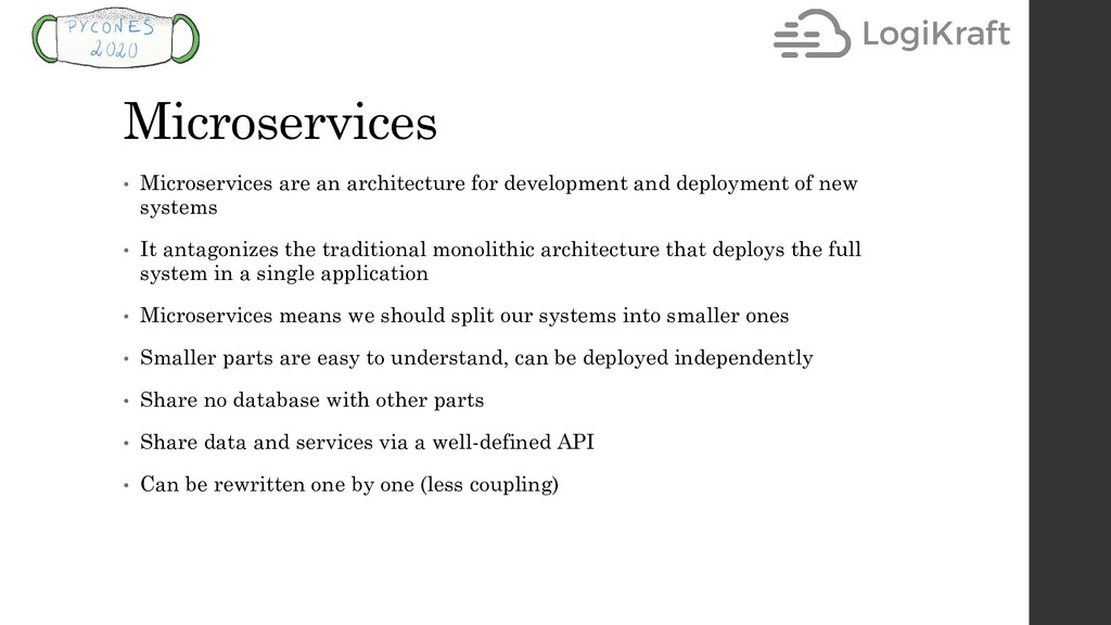 Microservices • Microservices are an architectu...