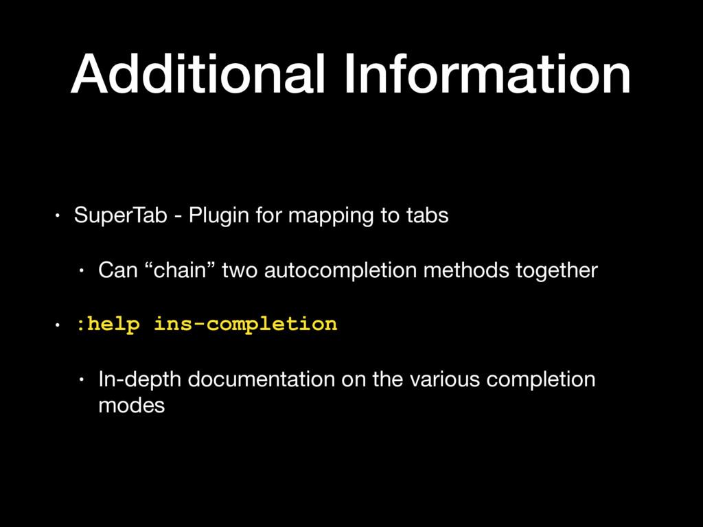 Additional Information • SuperTab - Plugin for ...