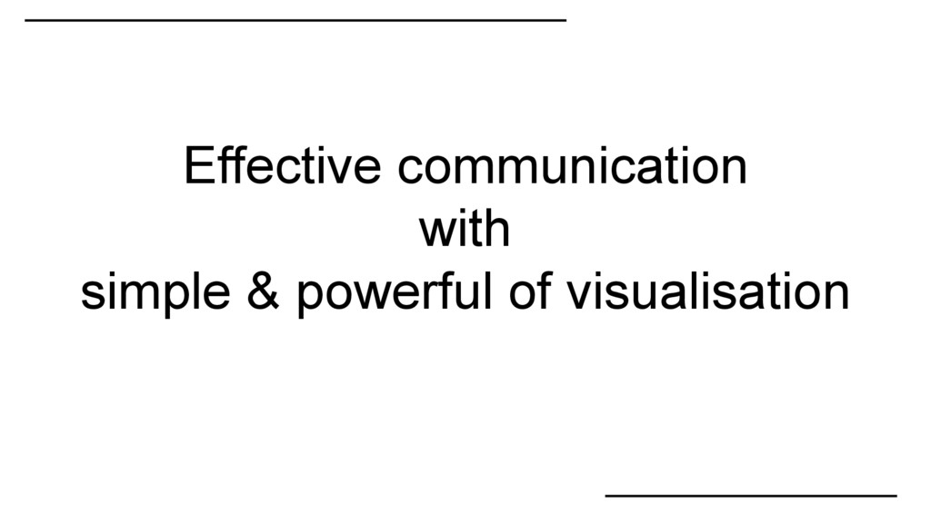 Effective communication with simple & powerful ...