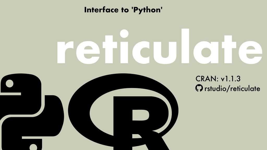Interface to 'Python' CRAN: v1.1.3 rstudio/reti...