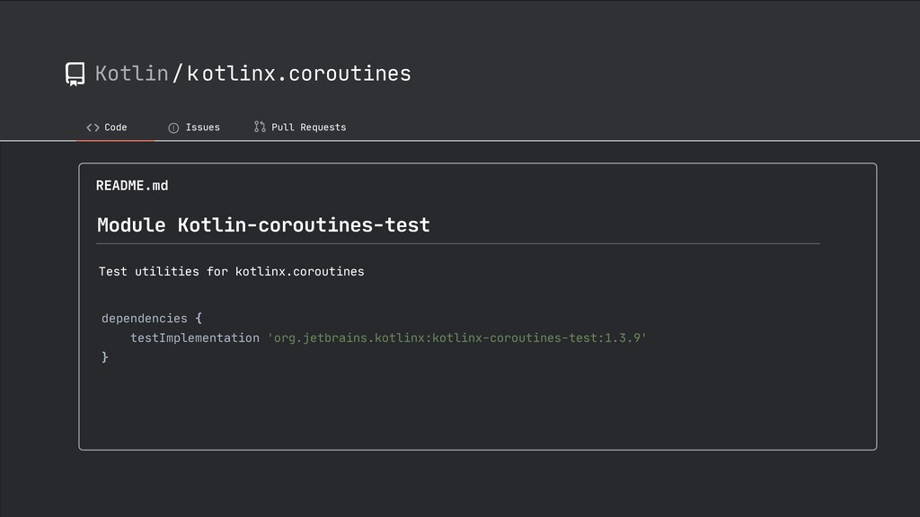 Kotlin/kotlinx.coroutines Code ! Issues Pull Re...