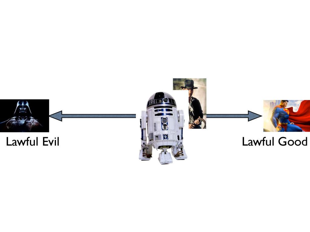 Lawful Evil Lawful Good