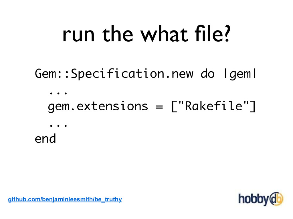 run the what file? Gem::Specification.new do |ge...