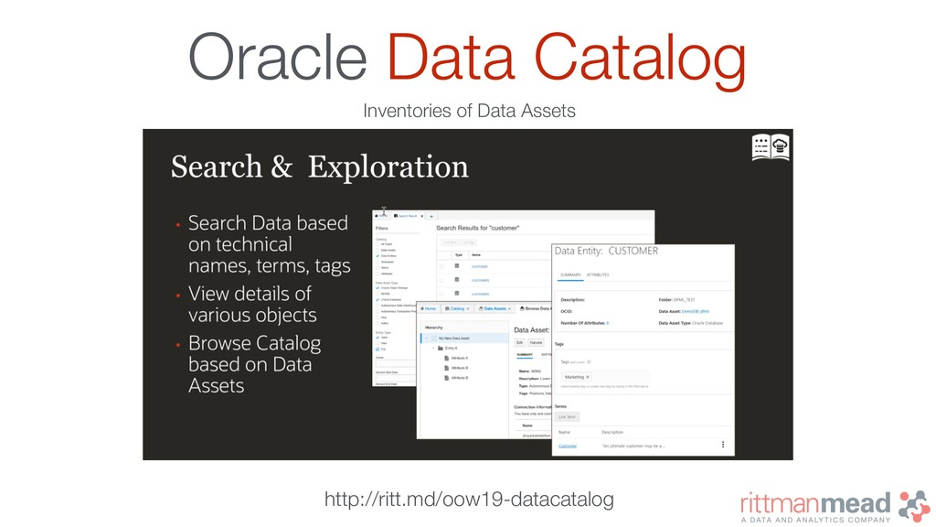 Oracle Data Catalog Inventories of Data Assets ...