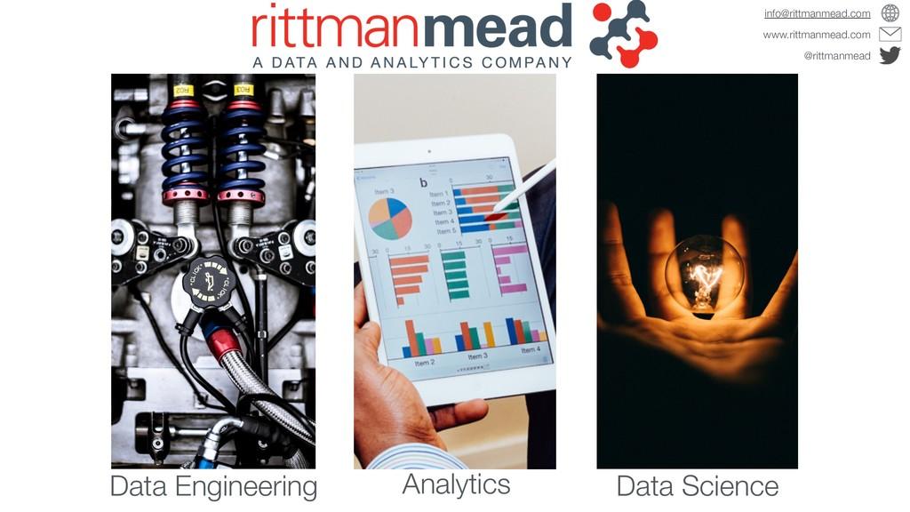 Data Engineering Analytics Data Science www.rit...