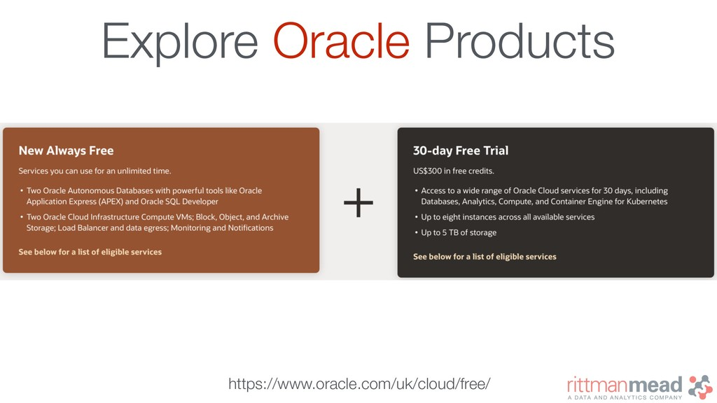 Explore Oracle Products https://www.oracle.com/...